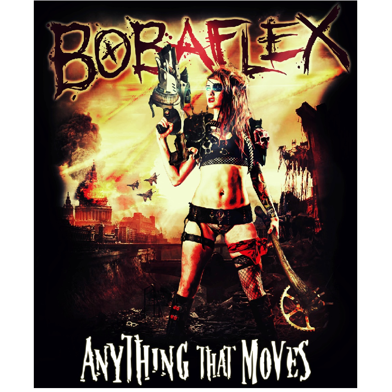 Bobaflex CD- Anything That Moves
