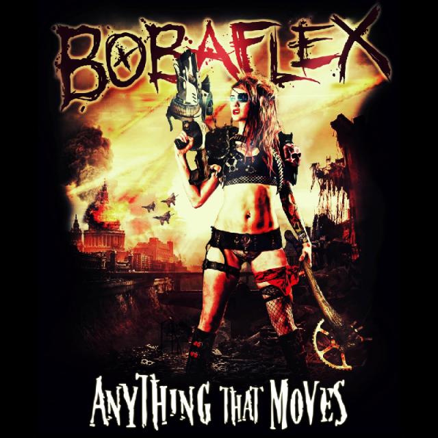 Bobaflex CD- Anything That Moves